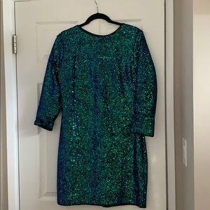 Fashion Nova Perfect Party Sequin Dress